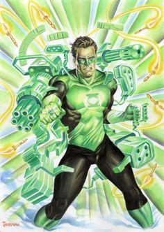 Green Lantern by Thor Mangila
