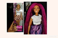 Barbie Fashionista rerooted and reimagined. Barbie Fashionista, Beautiful Dolls, Creative, Collection, Dresses, Gowns, Dress, Vestidos, Gown