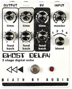 Death By Audio Ghost Delay 2016