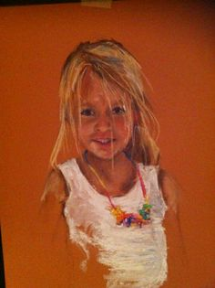 My youngest drawn by my mom ! Isn't she beautiful !