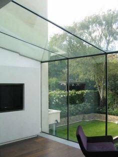 Skylight Ideas that'll Brighten Your Heart (Best 10 Designs) House Design, House, Glass Extension, Glass Room, House Styles, Exterior Design, Room Extensions, Modern Conservatory, House Deck