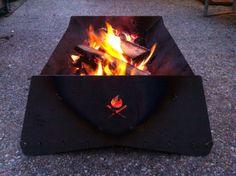 Urban Flame flatpack fire