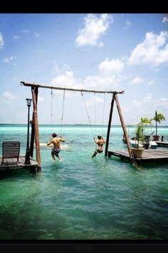 ocean swing!