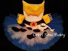 """Toy Story's """"Jessie"""" Tutu Dress Set"""