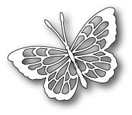 Poppy Stamps - Theo Butterfly - The Rubber Buggy