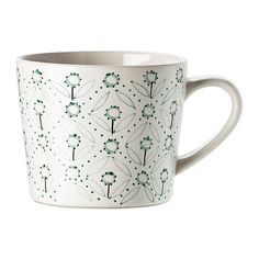 IKEA - ENIGT, Mug, Unique dinnerware with patterns, details and raised reliefs that exude tradition and craftsmanship.
