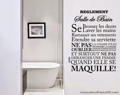 stickers muraux dcoratifs textes et citations - Stickers Salle De Bain Texte