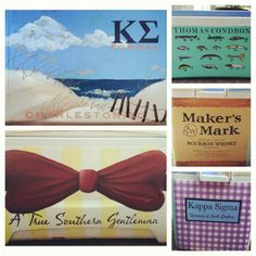 Hand Painted Custom Cooler by ECMoriginals on Etsy, $55.00
