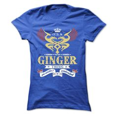 its a GINGER Thing You Wouldnt Understand ! - T Shirt, Hoodie, Hoodies, Year,Name, Birthday