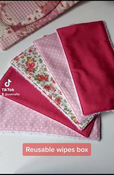 Sewing Lessons, Sewing Hacks, Sewing Projects, Wipes Box, Makeup Removers, Diy Pillow Covers, Backpack Pattern, Fabric Boxes, Creation Couture