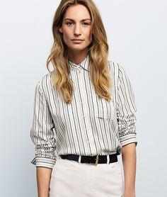 Carlin Striped Shirt | Baukjen