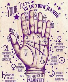 Palmistry for witchy babes.