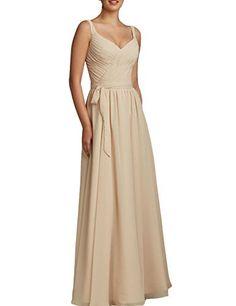 SeasonMall Women's Prom Dresses A Line Straps Chiffon Beige Bridesmaid Dresses, http://www.amazon.com/dp/B018DJZCK2/ref=cm_sw_r_pi_awdm_livXwb0RQFTAM