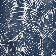 Prints Ellie's View - Navy on White Paperweave 7158 in Navy on White Paperweave