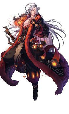 Irmão/braço esquerdo de Tibalt Razak, tbm conhecido como: Vladmir Razak - O dragão vermelho