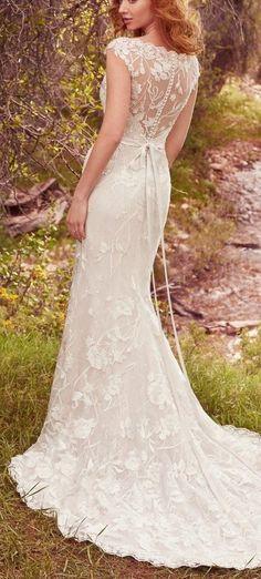 2991b46a295 Lightweight Gatsby Gowns for a Summer Wedding. 2nd Wedding DressesClassic Wedding  GownsMaggie Sottero ...