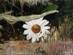 Untitled (23.4.07)  2007  Gerhard Richter  12.6 cm x 16.6 cm  Oil on photograph