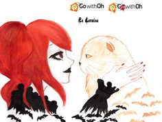 SPOOKY, CUTE, GOTHIC, HALLOWEEN ART DRAWINGS! WINNERS OF GOTH WITH OH & LACARMINA ILLUSTRATION CONTEST, graphic design, fan art, fanart, fashion bloggers art, fashion design sketches, manga, anime, cute japanese drawings, kawaii art, artwork, japan modern artists, travel bloggers, competitions, art contests, drawing contest, fashion design contest, tshirt graphic logo, go with oh, emo punk girl, t-shirt designs, best tshirts art, halloween paintings