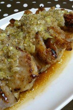 ネギ塩ダレが決め手*豚肉・鶏肉の塩麹焼き