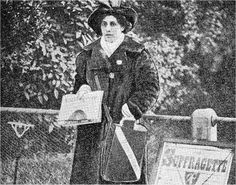 Princess Sophia Jindan Alexdrowna Duleep Singh become involved in the movement for Women's Suffrage (being allowed to vote). She attended meetings and joined in demonstrations, including the famous Black Monday demonstration when the Suffragettes clashed with the police and many were injured. She joined the Women's Tax Resistance League, this led her into court, twice, having the bailiffs visit her house and take her belongings.