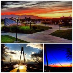 Sunsets on campus We Have A Winner, University Of Utah, Sunsets, Wind Turbine, Explore, Places, Beautiful, Design, Lugares