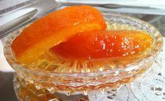 Orange Peel Sweet Preserve (Glyko koutaliou Portokali), posted from MyGreekDish.com iOS app