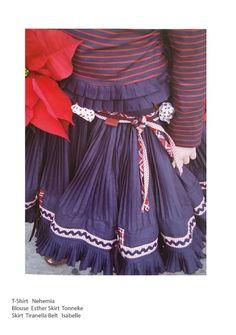 Jottum 4 PC beautiful winter set skirt / blouse / sweater / longsleeve 140 10Y