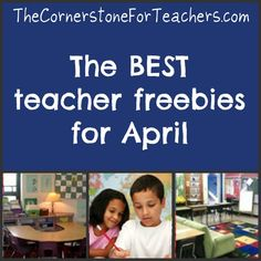 Awesome Linky of April FREE resources. WAHOO!