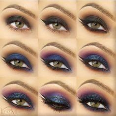 WEBSTA @landofmakeup Last of my old step by steps I wanted to share it again ( I am moving my make up room hopefully will finish by tomorrow and do new tutorials )