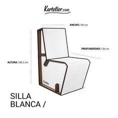 sillas plegable cartón - Buscar con Google