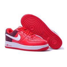 separation shoes e641d 9bcbd Nike Air Force Ones, Lowes, Burgundy, Wine Red Hair, Amaranth Grain