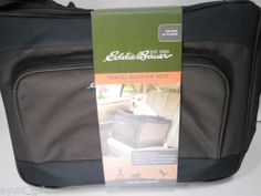 Eddie Bauer Car Travel Booster Seat for Dogs up to 25 Lbs Folds Flat to Store
