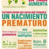 Dia Mundial del Prematuro. 17 de noviembre.  Infografía