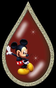 Mickey tear drop...Kk