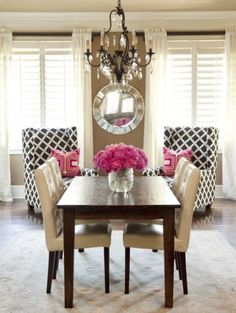 love the chairs. Maybe add some throw pillows in a different print and I would love them even more.