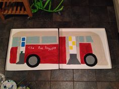 Mia's Martin Luther King Bus - all her own work! Bus Boycott, Martin Luther King, Holiday, Projects, Log Projects, King Martin Luther, Vacations, Holidays Events, Holidays