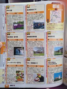 るるぶ宮崎2013年にも観光名所に混ざって黄色いあの人がいルウ!