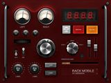RED! Free UI Download PSD