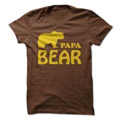(Tshirt Like) Papa bear [TShirt 2016] Hoodies, Funny Tee Shirts