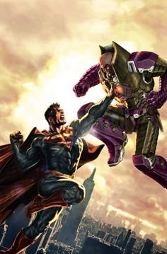 Superman vs. Lex Luthor by Lee Bermejo