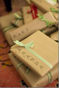 wrapping paper!