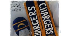 Chargers earflap beanie