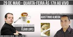 Nesta semana entrevistaremos Agosttinho Almeida - Escritor e Psicoterapeuta! É Quarta - 17H - www.radioricos.com.br - canal eclético