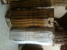 Pajukorit. Wowen baskets. Baskets, Home, Hampers, Ad Home, Basket, Homes, Haus, Curves, Houses