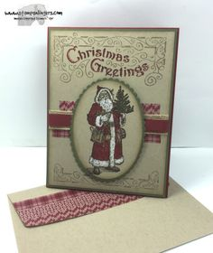 Stampin' Up! Father Christmas for a Single Stamp Set Sunday!