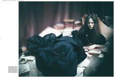 Photo by Paolo Roversi, 2007  Vogue Italia, November 2007  Toggle