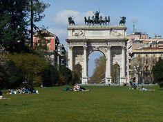Un po' di relax al Parco Sempione Foto di Roberta Berselli #milanodavedere Milano da Vedere