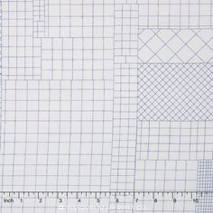 Doe Complete Collection - Subdivided Blue Yardage - Carolyn Friedlander - Robert Kaufman