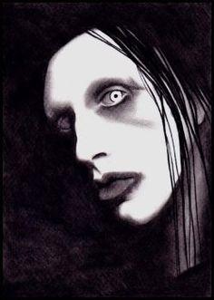 Marilyn Manson by MaSHA-EXilia