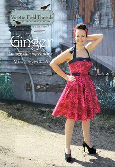 Ginger Misses Dress & Top - Violette Field Threads - 1